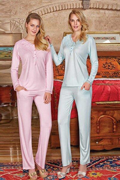 Berrak Kadın Mint Pijama Takımı 388