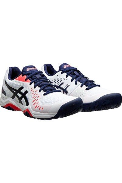 Asics Unisex Beyaz Tenis Ayakkabısı