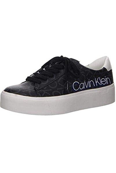 Calvin Klein Kadın Siyah Bağcıklı Spor Ayakkabı