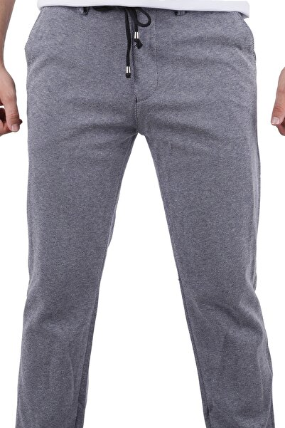 Canelia Erkek Ipli Örme Lacivert Pantolon