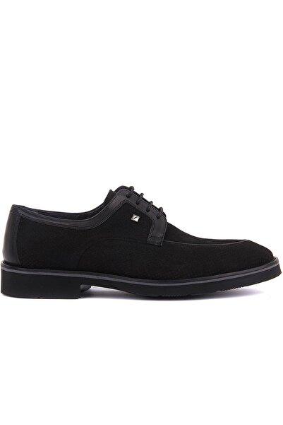 Fosco Erkek Siyah Nubuk Ayakkabı