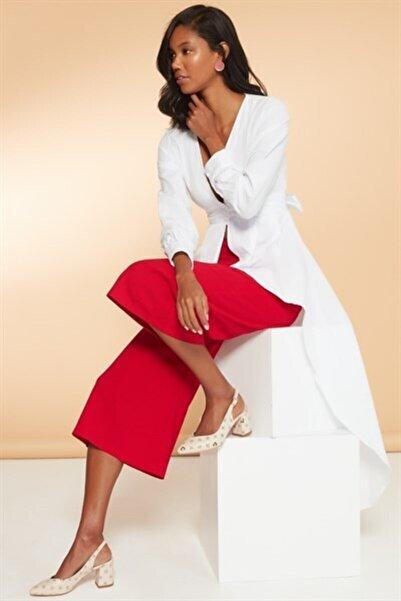 Pierre Cardin Kadın Bej Topuklu Ayakkabı Pc-50173