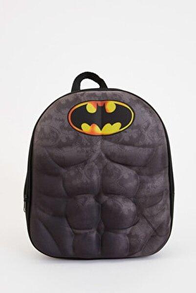 Erkek Çocuk Batman Lisanslı Sırt Çantası