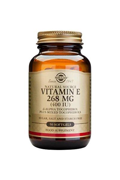 Solgar Vitamin E 400 Iu 50 Kapsül