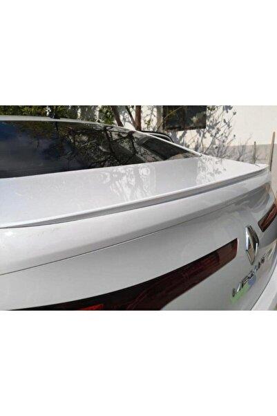 ŞüsCarOto Parlak Beyaz Renault Megane 4 Sedan Kasa Bagaj Üstü Spoiler