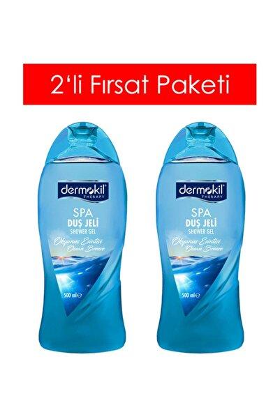 Dermokil Therapy Duş Jeli Spa Okyanus Esintisi 500 Ml X 2 Adet