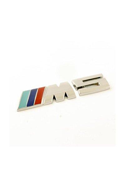 Şanlı Bmw M5 Plastik Krom Arma Logo Sticker