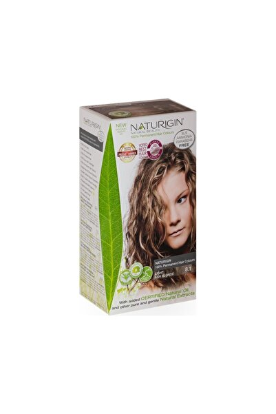 Naturigin Organik Içerikli Saç Boyası 8.1 Açık Kül Sarısı