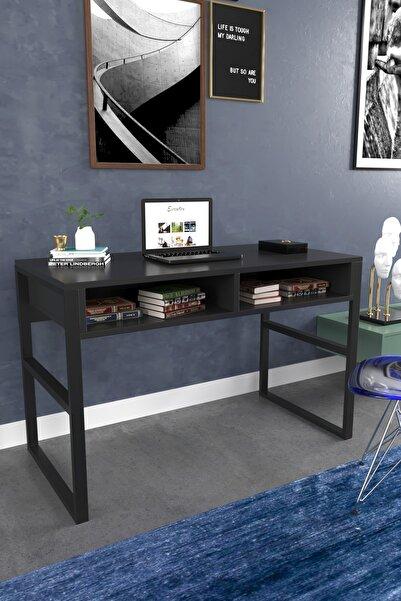 Evdemo Siyah Luna Çalışma Masası