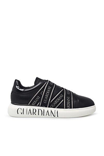 ALBERTO GUARDIANI Kadın Siyah Deri Ayakkabı Agw001500