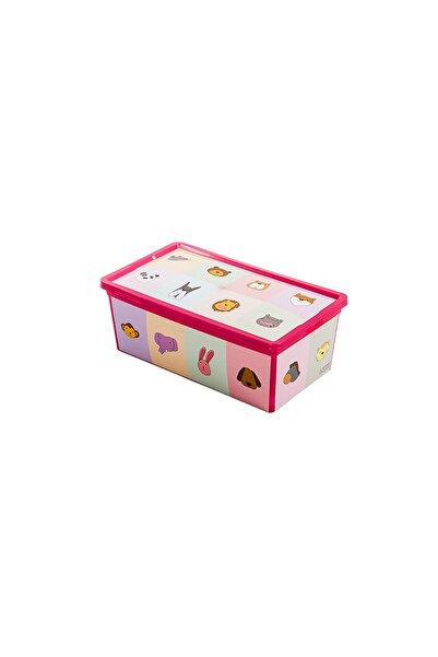 QUTU Trend Box Looking Learning - 5 Litre Oyuncak Saklama Kutusu