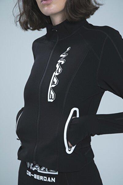 DB BERDAN Kadın Siyah Ultra Teknolojik Ceket