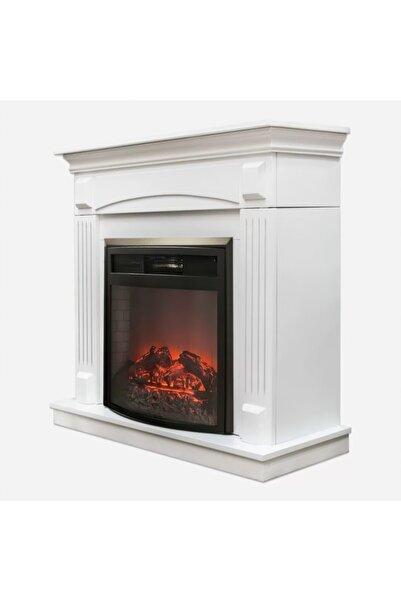 DLC Wf2613 1800 Watt Dekoratif Beyaz Şömine