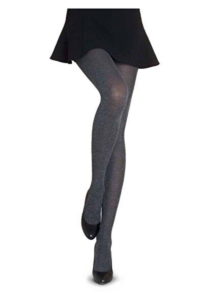 Penti Kadın Gümüş Micro60 Cotton Külotlu Çorap