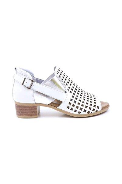 Mammamia Kadın Beyaz Sedefli Ayakkabı 985