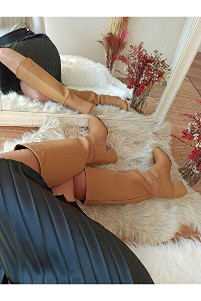 PENNE SHOES Kadın Bej Çizme