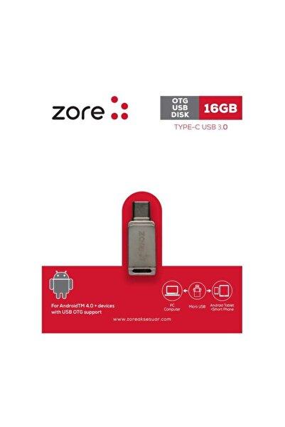 zore 3.0 Type-c Otg 16 Gb Flash Bellek Mini Boy Hızlı