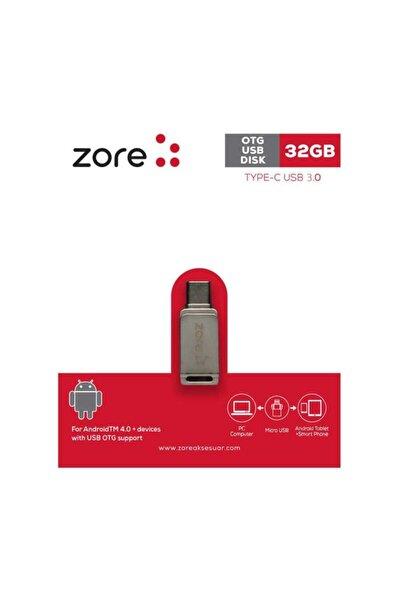zore 3.0 Type-c Otg 32 Gb Flash Bellek Mini Boy Hızlı