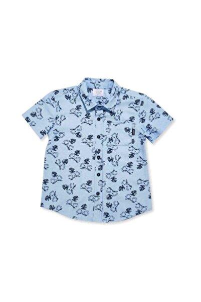 Wonder Kıds Wonder Kids Mavi Erkek Çocuk Gömlek