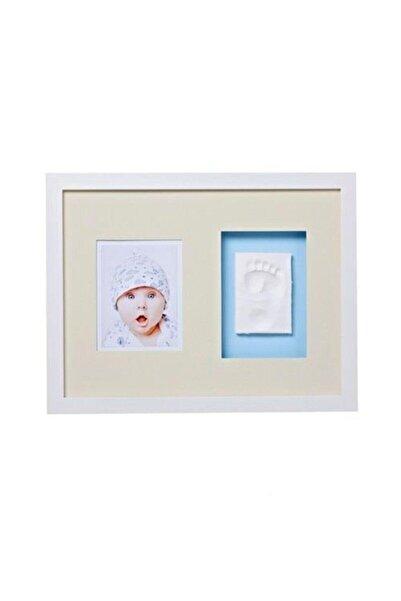 Baby Memory Beyaz Prints El Ve Ayak Izi Duvar Çerçevesi