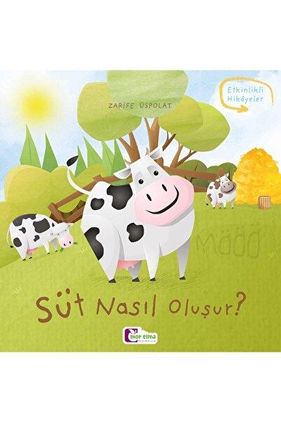 Mor Elma Yayıncılık Süt Nasıl Oluşur - Oluşum Hikâyeleri - Okul Öncesi Kitabı