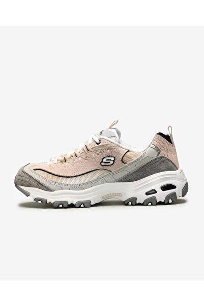 SKECHERS D'LITES-FREE ENERGY Kadın Beyaz Sneakers