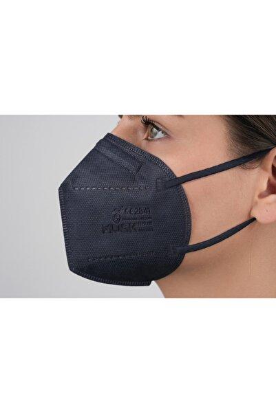 Musk N95 Maske Lacivert 20 Adet