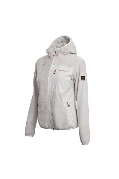Cresta Kadın Ekru Outdoor Yumuşak Polarlı Ceket