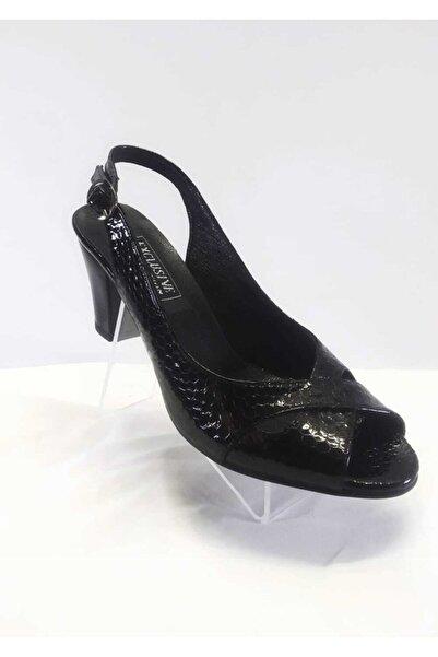 EXCLUSIVE Kadın Hakiki Deri   Topuklu Ayakkabı