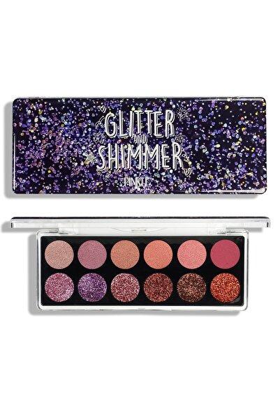 PINKLE Glitter&shimmer Far Paleti - Reddish