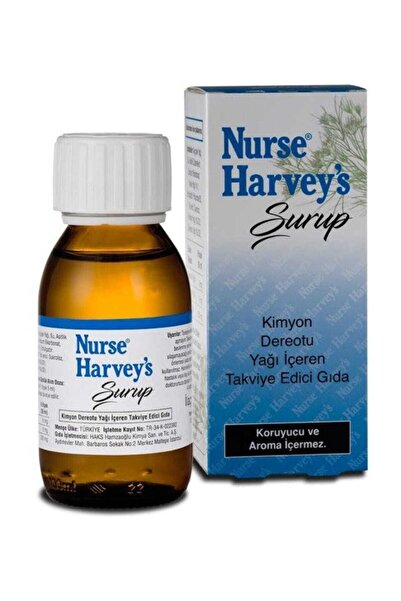 Nurse Harvey's Gaz Giderici Şurup 100 ml