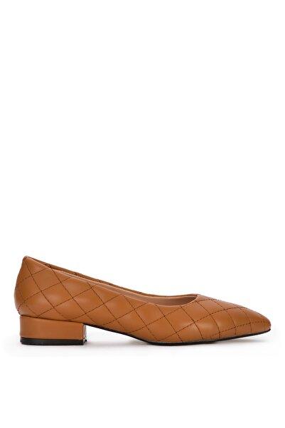 Sole Sisters Kadın Taba Naturel Babet ve Düz Ayakkabı