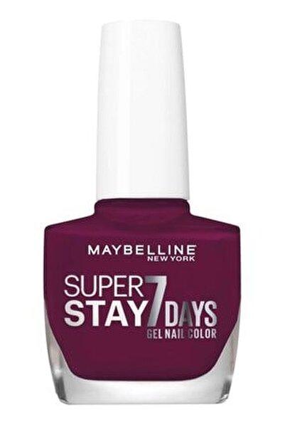 Super Stay Oje- 270 Ever Burgundy