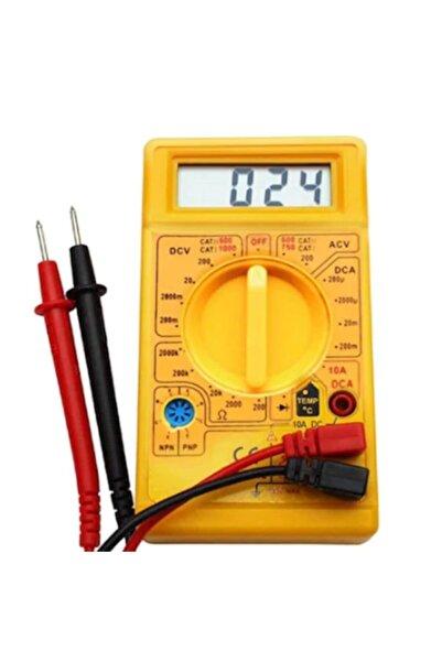 HIRDAVATÇIM06 Dijital Avometre Multimetre Ölçü Aleti Akım Voltaj Direnç Ölçer