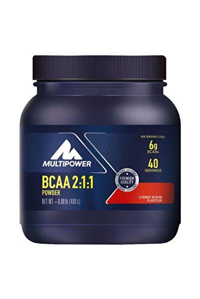 Multipower Bcaa Powder 400 Gr 40 Servis Kiraz Aromalı Amino Asit