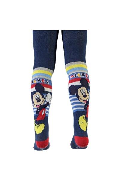 Mickey Mouse Mıckey Mouse Lacivert Külotlu Çorap
