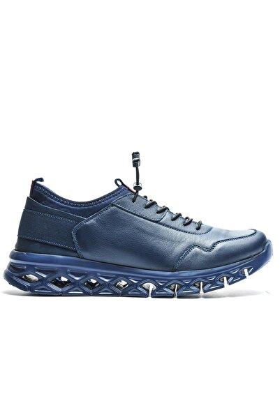 Bulldozer Erkek Lacivert Ayakkabı