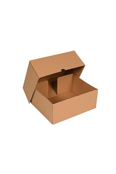 İSTANBUL OLUKLU MUKAVVA Paketleme Kutusu Kargo Kutusu 25 X 16 X 10 Cm (25 Adet)