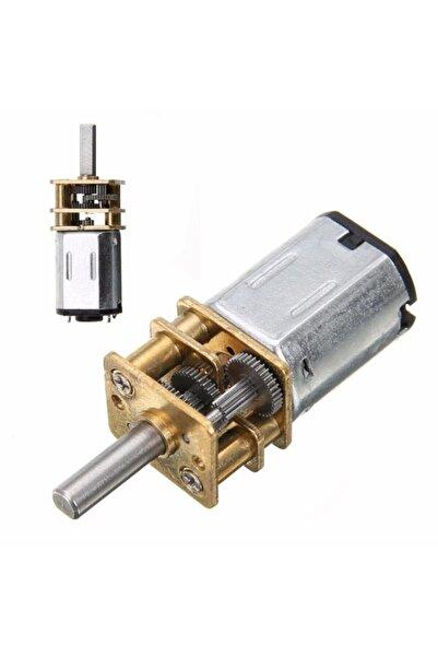 Profisher Arduino Model Proje Dc 6v 200 Rpm N20 3mm Mil Mini Metal Dişli Motor