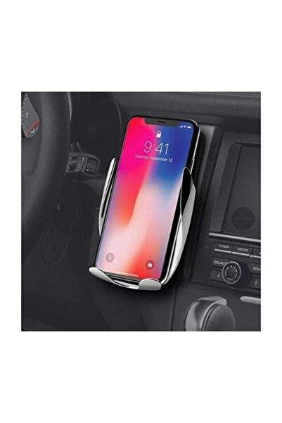 BLUPPLE S5 Sensörlü Kızılötesi Wireless Araç Oto Araba Içi Şarj Telefon Tutucu Kalorifer Petek Siyah