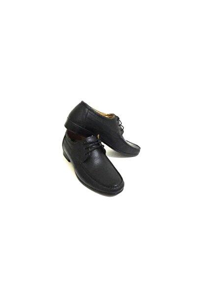 Erdem Siyah Ve Kahverengi Renk Seçenekli Bağcıklı Hafif Hakiki Deri Erkek Günlük Klasik Ayakkabı