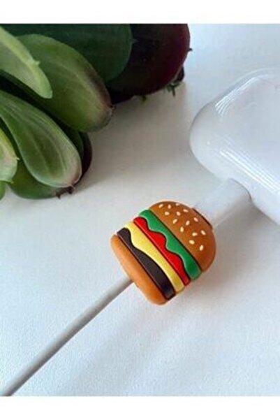 MY MÜRDÜM Kablo Koruyucu Sevimli Hamburger