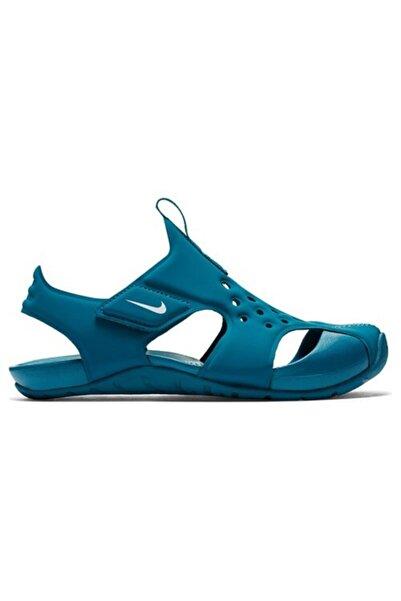 Nike Unisex Çocuk Mavi Sunray Protect 2 Sandalet 943827-301