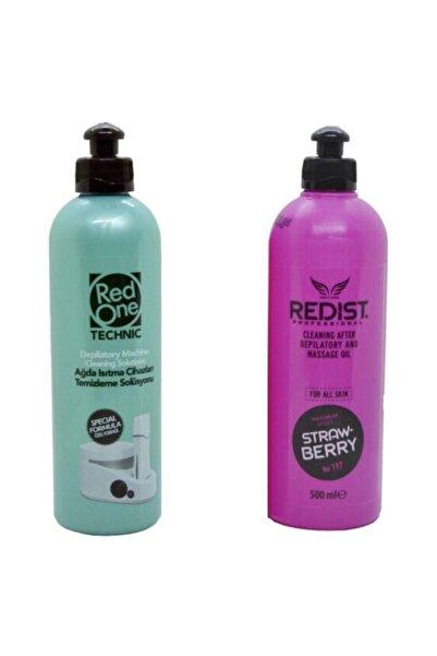 Redist Redıst Ağda Sonrası Bakım Yağı + Ağda Isıtma Cihazı Temizleme Solüsyonu