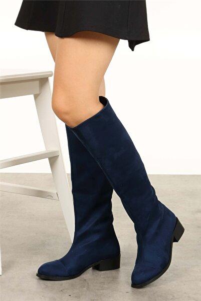 Mio Gusto Parley Lacivert Çizme