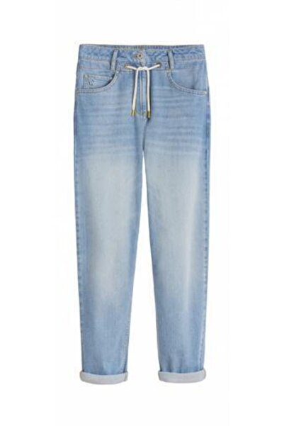 Only Kadın Mavi Denim Boyfriend Mom Jeans