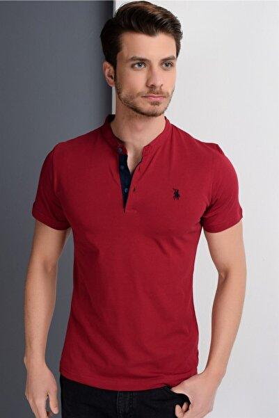 Dewberry Erkek Bordo T-Shirt - 2090001T8560