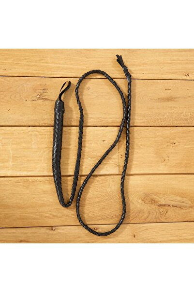 Samur Siyah Uzun Kamçı Kırbaç