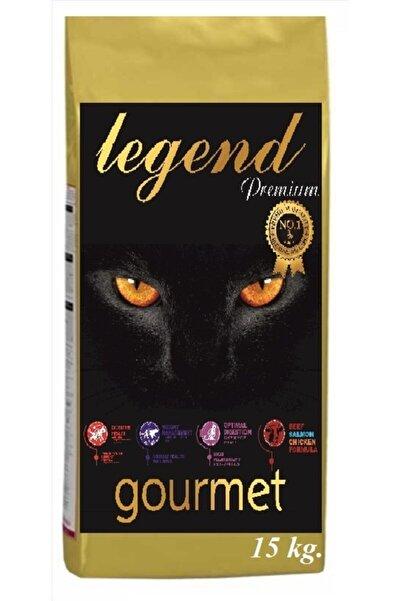 Legend Gold Gourmet Düşük Tahıllı Kuzu Etli, Tavuklu Ve Balıklı Yetişkin Kedi Maması 15 Kg (gdo 'suz)