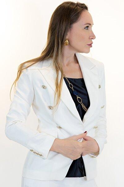 Lefon Sixt Button Blazer Ceket